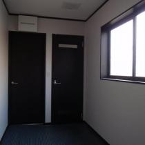 4.美容室併用住宅_バックスペース