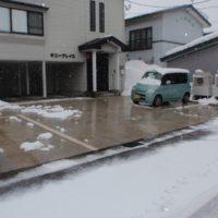 融雪施工例1